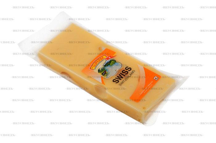 Сыр Швейцарский 180 г