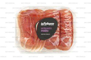 Ассорти мясное св Антипасто La Felinese (шейка+окорок) 120г