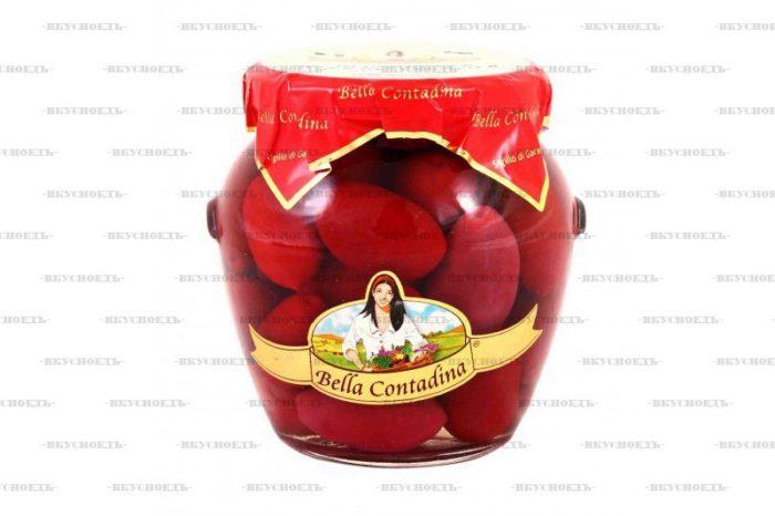 Оливки красные Белла Чериньола гигантские