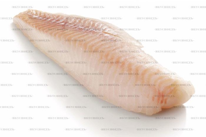 Филе трески без кожи
